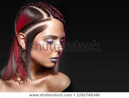 Portrait jolie jeune fille flèche séduisant dame femme Photo stock © majdansky