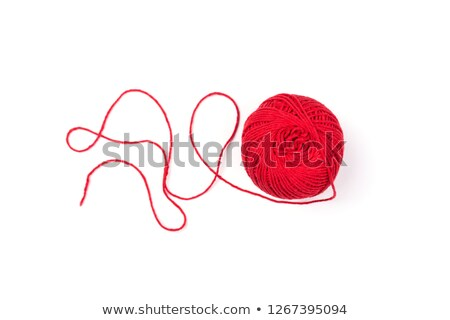 Thread isolated on a white Stock photo © jordanrusev