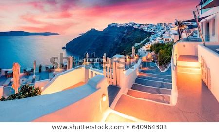 Greek Mediterranean Sunset Stock photo © Lighthunter