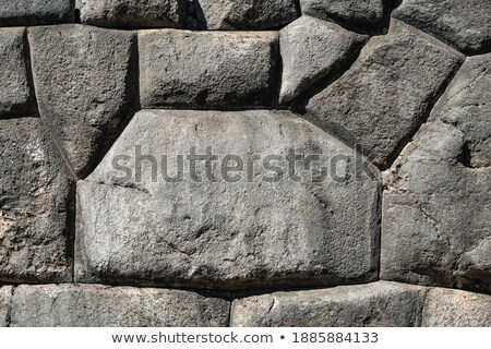Paredes antigo inca Peru cidade Foto stock © meinzahn