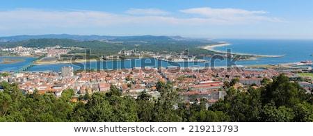 Aerial View On The Center Of Viana Do Castelo Zdjęcia stock © jorisvo