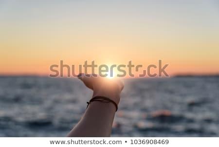 Reaching The Ocean Stock photo © MilanMarkovic78