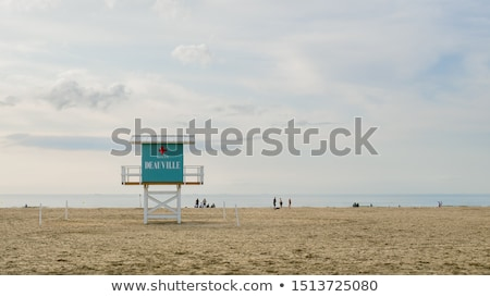 Deauville beach view Stock photo © pedrosala