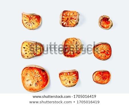фрукты · чай · Ломтики · сушат · изолированный · белый - Сток-фото © galitskaya
