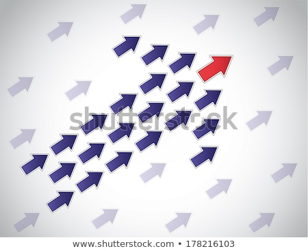 leading moving forward arrow concept background design Stock photo © SArts