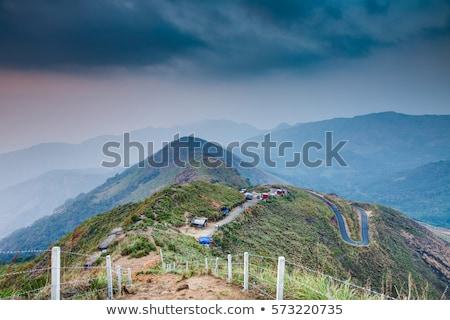 View of Western Ghats mountains, India Stock photo © dmitry_rukhlenko