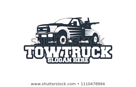 Vector tow truck symbol icon Stock photo © nickylarson974