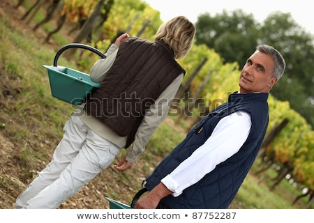 Middle-aged couple foraging Stock photo © photography33