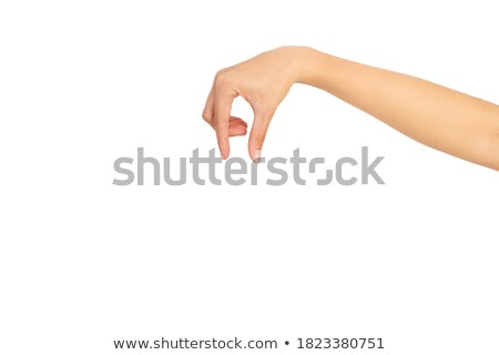Woman holding grippers Stock photo © photography33