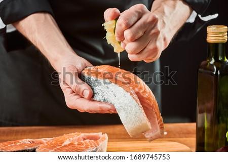 finom · tengeri · hal · szabadtér · étel · BBQ · grillezett - stock fotó © photography33