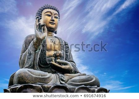 historic buddha statues stock photo © bbbar
