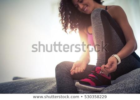 соответствовать · женщину · девушки · спорт · фитнес - Сток-фото © photography33