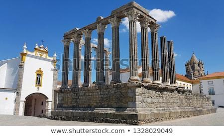 Stok fotoğraf: Roma · tapınak · Portekiz · unesco · dünya · miras