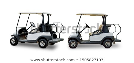 golf electric buggy Stock photo © goce