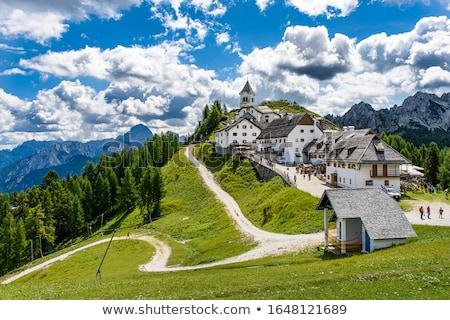 rakpart · domb · kilátás · város · új · erdő - stock fotó © smuki