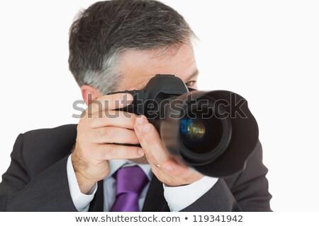 фото цифровая камера деловые люди мужчины фотография Сток-фото © wavebreak_media