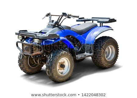 Isolado terreno veículo branco esportes Foto stock © Supertrooper