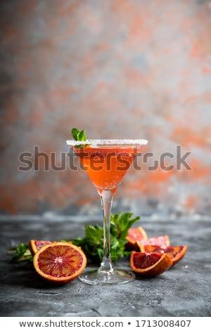 Véres narancs édes kosár piros szín Stock fotó © lidante