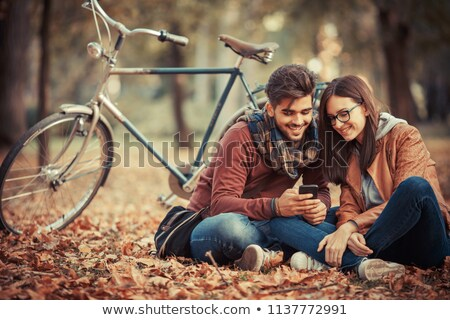 Beautiful autumn day in park Stock photo © Nejron
