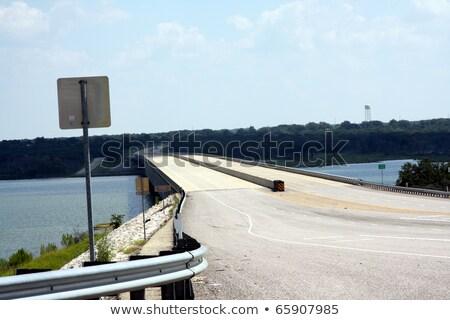 Teksas · eyaletler · arası · imzalamak · 10 · beyaz · trafik - stok fotoğraf © meinzahn