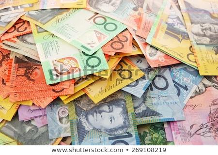 オーストラリア人 20 ドル 注記 1 ストックフォト © jeayesy