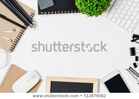 Working place with keyboard and mouse Stock photo © jordanrusev
