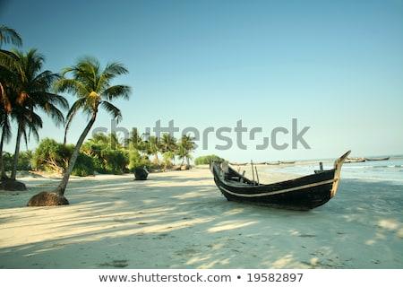 Ilha Bangladesh paisagem céu água Foto stock © bdspn