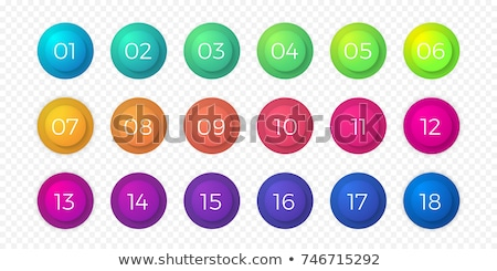 1 Number Yellow Vector Icon Button stock photo © rizwanali3d