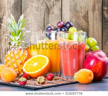 Frescos jugoso naranja de uva alimentación saludable Foto stock © dolgachov
