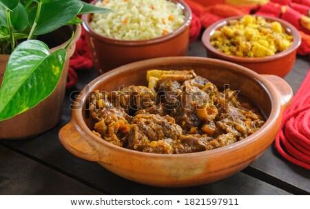 Meat dish accompaniment Stock photo © Digifoodstock