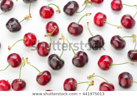 Red and black cherry Stock photo © blackmoon979