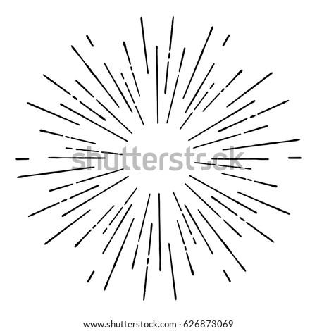 Vektor robbanás vonalak absztrakt technológia tudomány Stock fotó © fresh_5265954