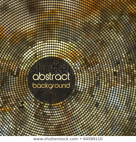 colorful circular mosaic design vector background Stock photo © SArts