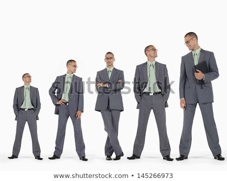 Multiple image of businessman against white background Stock photo © wavebreak_media
