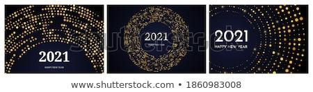 Szett három prémium arany kártyák bannerek Stock fotó © SArts