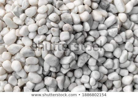Smooth pebbles of different colors and size Stock photo © manaemedia