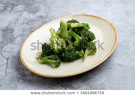 Homemade Stew with Broccoli Stock photo © zhekos