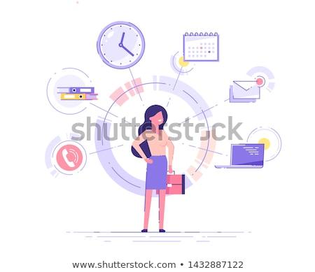 Businesswoman holding a briefcase Stock photo © wavebreak_media