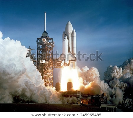 a space shuttle launched stock photo © bluering