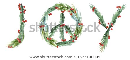 Christmas Peace Sign And Decorations Stock Photo C Marilyn Barbone Marilyna 9442778 Stockfresh