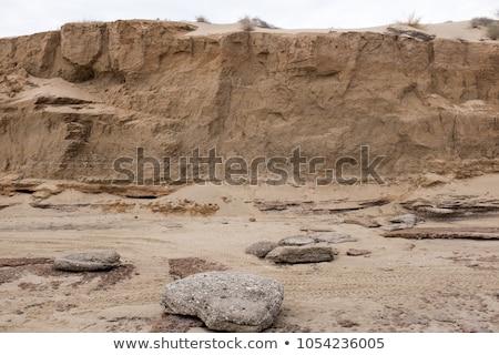 huge sand pile Stock photo © FOKA