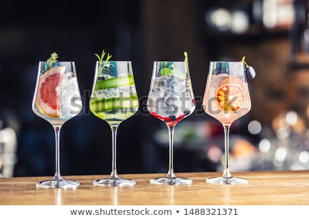Glasses of gin and tonic Stock photo © Alex9500