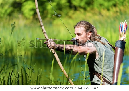 мнение лучник лук стрелка Сток-фото © lichtmeister
