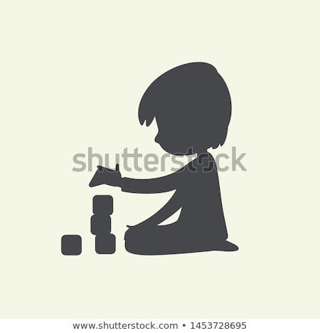 少年 演奏 建物 キット ホーム ストックフォト © dolgachov