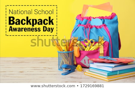 School Supplies or Stationery, Pupils or Children Stock photo © robuart