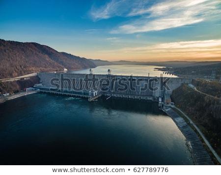 Hydro Water Power Dam Generating Electricity Stock photo © Krisdog
