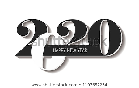 2020 year. Calendar for January. Isolated 3D illustration Stock photo © ISerg