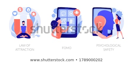 Psychological safety abstract concept vector illustration. Stock photo © RAStudio
