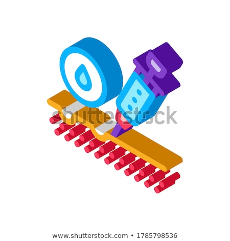 Skin Rejuvenation Injection isometric icon vector illustration Stock photo © pikepicture