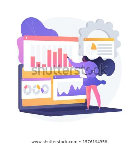 Online survey results analysis vector concept metaphor. Stock photo © RAStudio